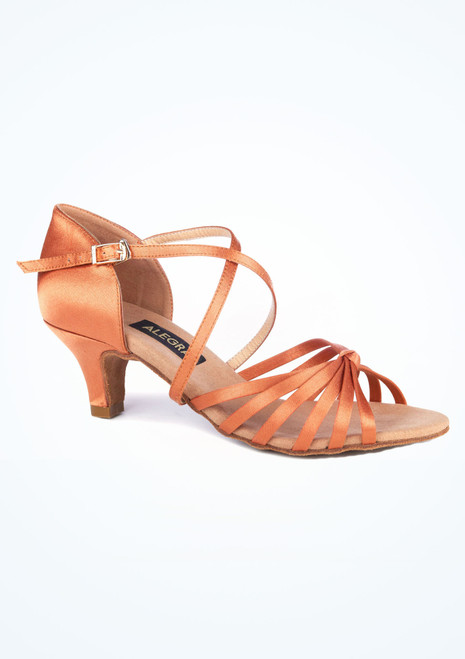Alegra May Tanzschuh 5cm. [Tan]