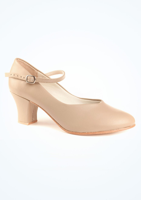 So Danca Charakterschuh 5cm Braun Tan. [Tan]