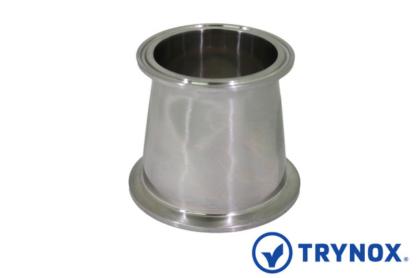 Trynox Sanitary Tri Clamp Concentric Reducer