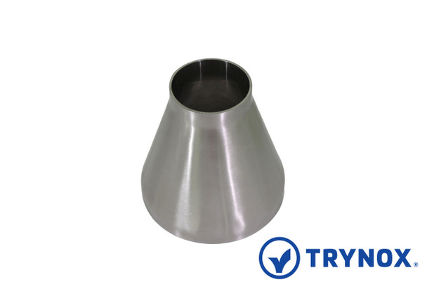 Trynox Sanitary SMS Welding Concentric Reducer