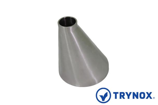 Trynox Sanitary SMS Welding Eccentric Reducer