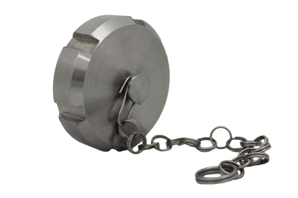 Trynox Sanitary SMS Blind Nut With Chain