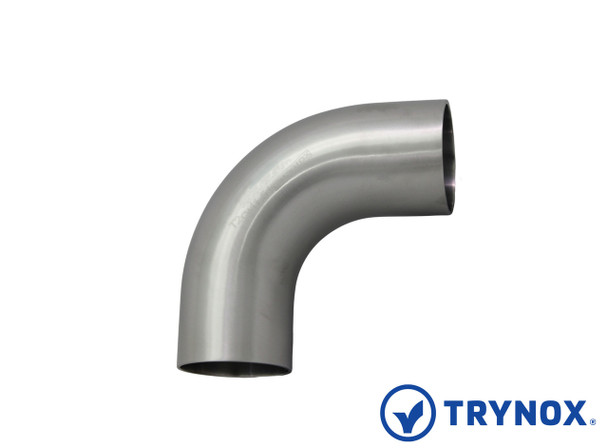 Trynox Sanitary SMS 90å¡ Welding Elbow (With Straight Ends)