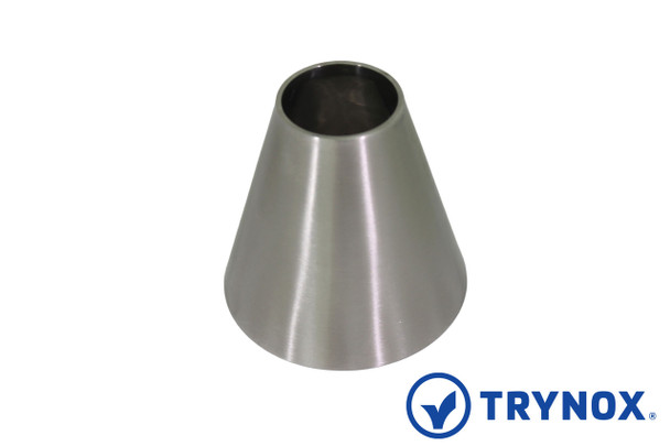 Trynox Sanitary 3A Welding Concentric Reducer