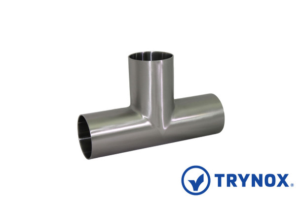 Trynox Sanitary 3A Welding Equal Tee (With Straight Ends)