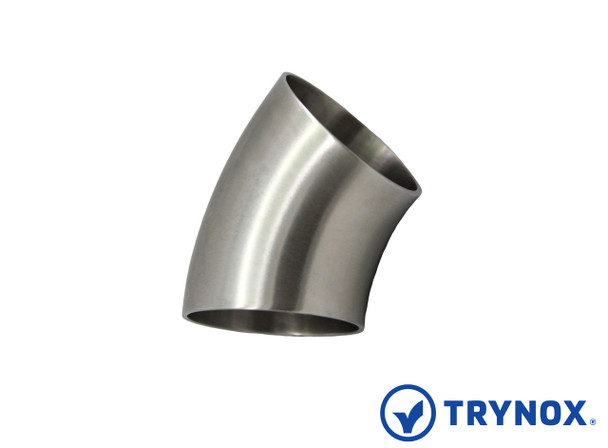 Trynox Sanitary 3A 45å¡ Welding Short Elbow