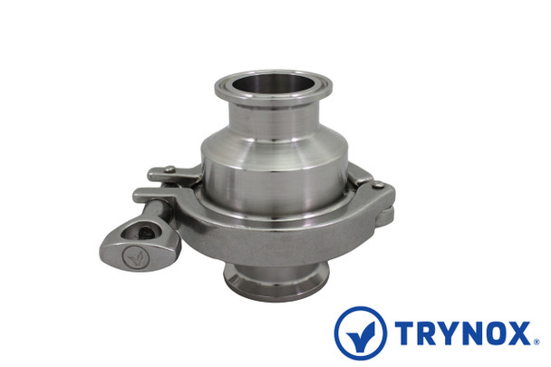 Trynox Sanitary Check Valve Clamp Ends