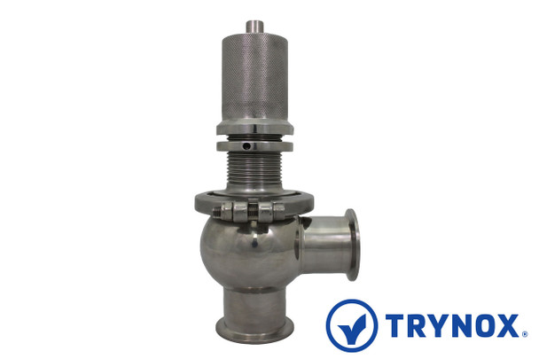 Trynox Sanitary Relief Valve Clamp Ends