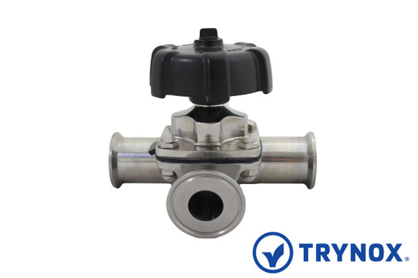 Trynox sanitary Diaphragm Valve Branch Type