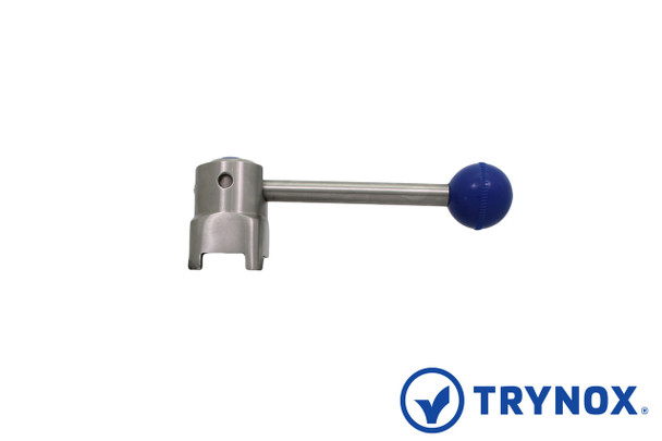 Trynox Sanitary Butterfly Valve SS Handle