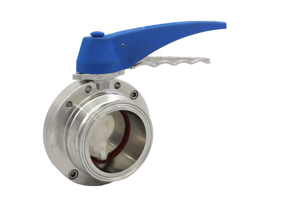 Trynox Sanitary Butterfly Valve Clamp Ends