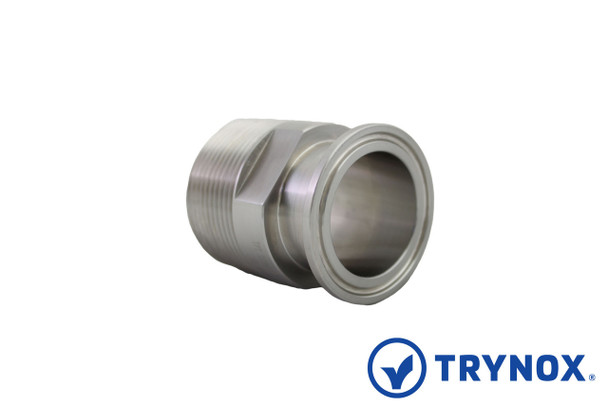 Trynox Sanitary Clamp Male NPT Adapter