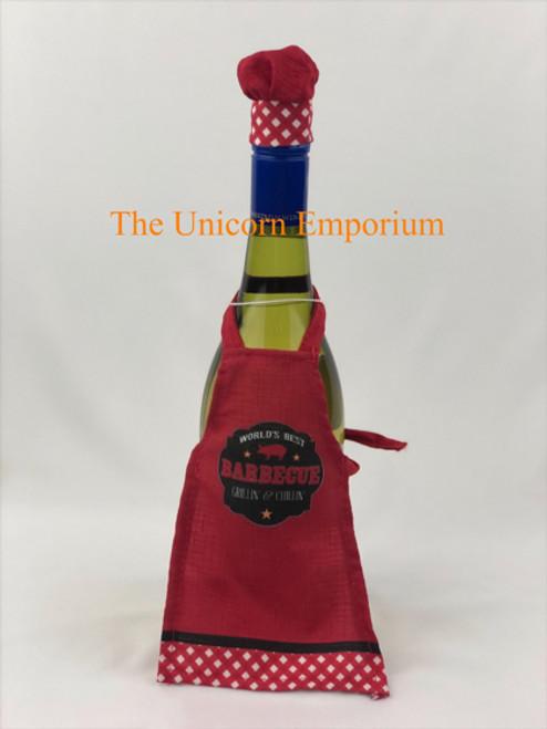 chef BBQ Bottle Apron