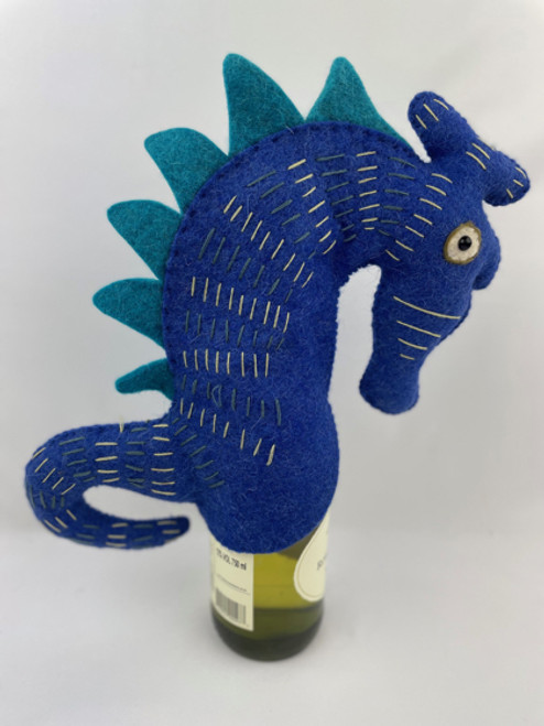 Seahorse Wine Bottle Cover