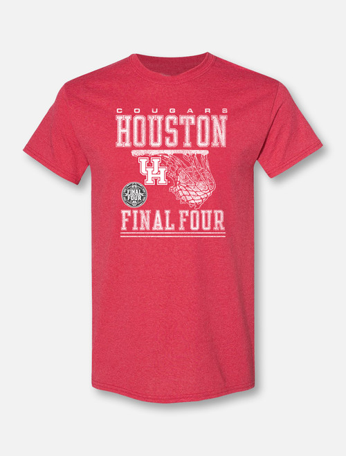 "Houston Cougars Final Four ""Rip It"" Soft Vintage T-shirt"