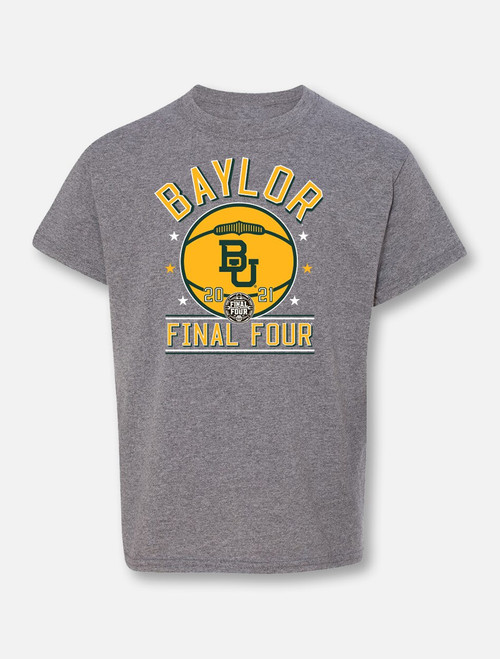 "Baylor Bears Final Four ""Courtside"" Youth Grey T-shirt"