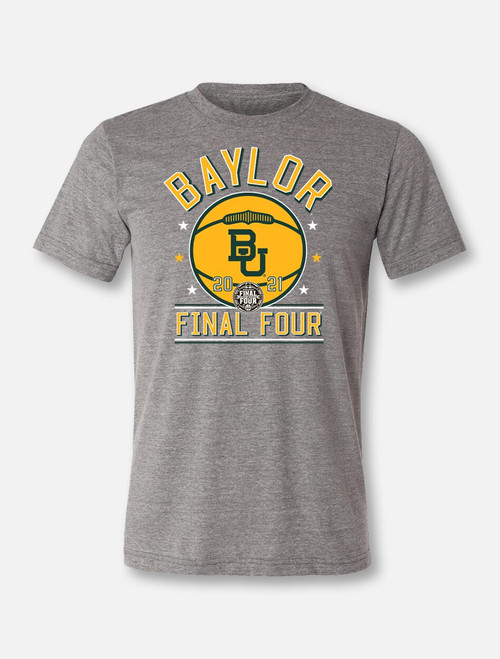 "Baylor Bears Final Four ""Courtside"" Soft Vintage T-shirt"