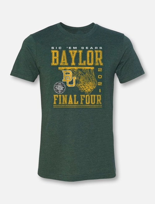"Baylor Bears Final Four ""Rip It"" Soft Vintage T-shirt"