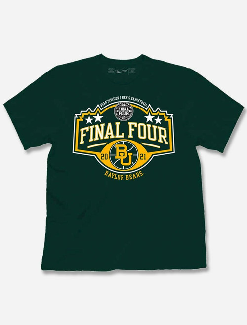 "Baylor Bears 2021 Final Four ""Stars"" T-Shirt"