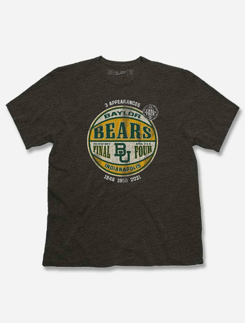 "Baylor Bears 2021 Final Four ""Globetrotter"" Soft Vintage T-shirt"