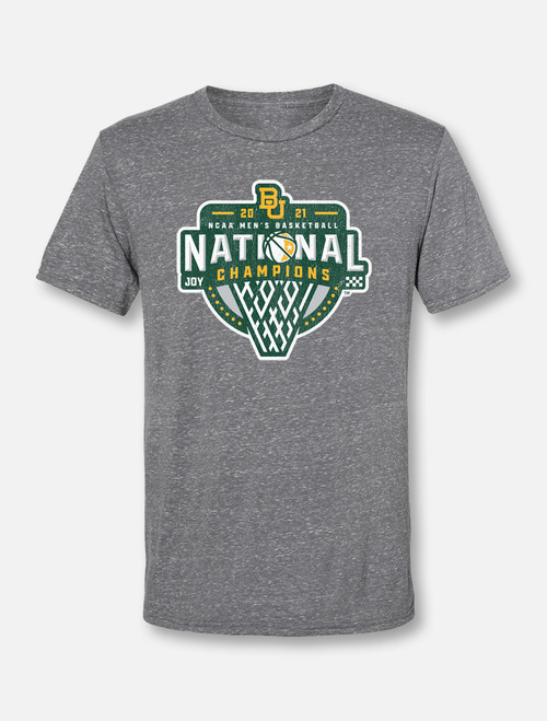 "Baylor Basketball National Champions ""Official Logo"" Soft VintageT-Shirt"
