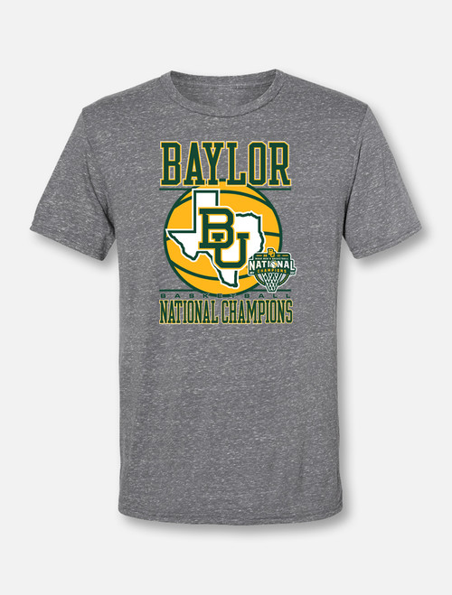 "Baylor Basketball National Champions ""Lone Star Pride"" Soft Vintage T-Shirt"