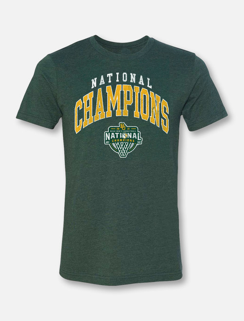 "Baylor Basketball National Champions ""Forrest Big Arch"" Soft Vintage T-Shirt"