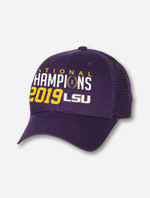 "LSU National Champion ""Big Rig"" Cap In Purple"