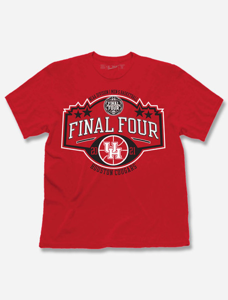 "Houston Cougars 2021 Final Four ""Stars"" T-Shirt"