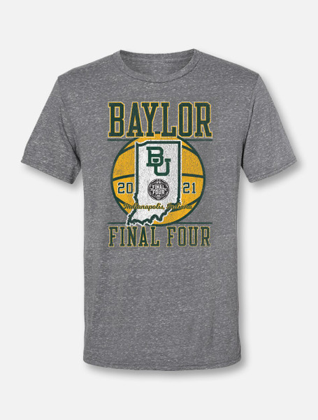 "Baylor Bears Final Four ""On The Road"" Soft Vintage T-shirt"