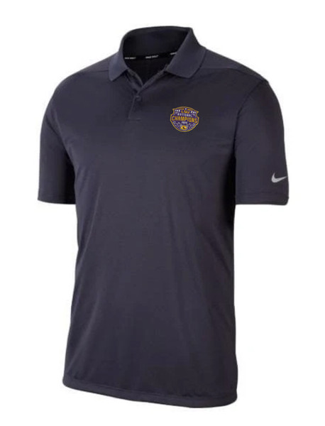 "Nike LSU National Champion Men's ""Victory"" Polo in Dark Grey"