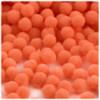 Acrylic Pom Pom, 12mm, 50-pc, Orange