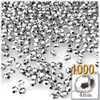 Beads, Faceted, 4mm, Silver, 500-pc, The Crafts Outlet