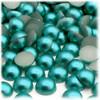 Half Dome Pearl, Plastic beads, 10mm, 144-pc, Jade Blue