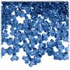 Plastic Tri-Bead, Transparent, 11mm, 200-pc, Royal Blue