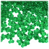 Plastic Tri-Bead, Transparent, 11mm, 200-pc, Light Green