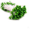 Pearl Stamen, 2-in, 3mm, 144-pc, Forest Green