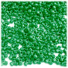 Tribeads, Opaque, Tribead, 10mm, 100-pc, Emerald green