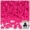 Plastic Tri-Bead, Opaque, 11mm, 1,000-pc, Hot Pink BDS-10TRB-OPQ-HPK-1K 7567