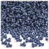 Tribeads, Opaque, Tribead, 10mm, 100-pc, Navy Blue