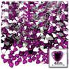 Rhinestones, Flatback, Heart, 4mm, 288-pc,Fuchsia
