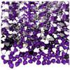 Rhinestones, Flatback, Heart, 4mm, 288-pc, Purple (Amethyst)