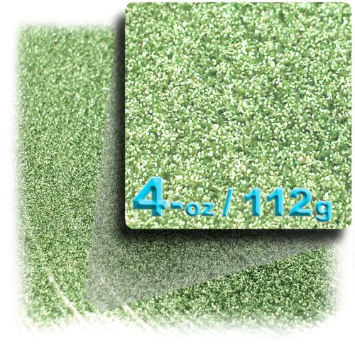 Glitter powder, 4-OZ/112-g, Fine 0.008in, Apple Green