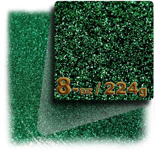 Glitter powder, 8-OZ/224-g, Fine 0.008in, Emerald Green