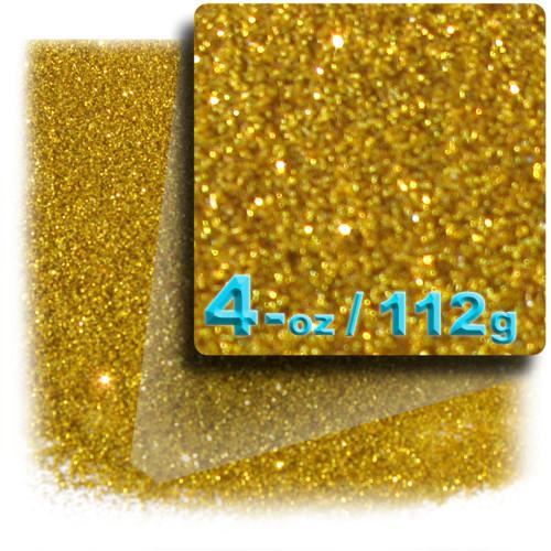 Glitter powder, 4-OZ/112-g, Fine 0.008in, Gold