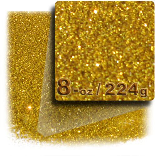 Glitter powder, 8-OZ/224-g, Fine 0.008in, Gold