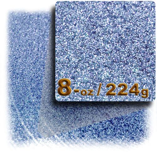 Glitter powder, 8-OZ/224-g, Fine 0.008in, Light Blue
