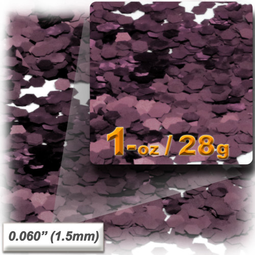 Glitter powder, 1oz/28g, Fine 0.060in, Mocha