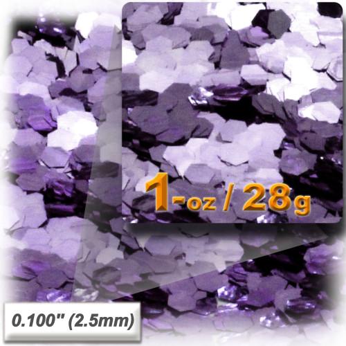 Glitter powder, 1oz/28g, Sequins Glitter 0.100in, Light Purple