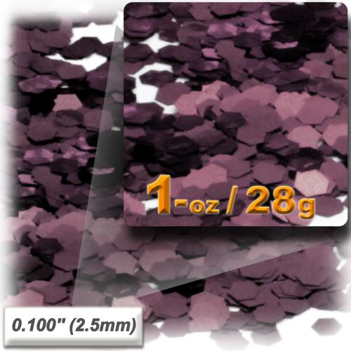 Glitter powder, 1oz/28g, Sequins Glitter 0.100in, Mocha